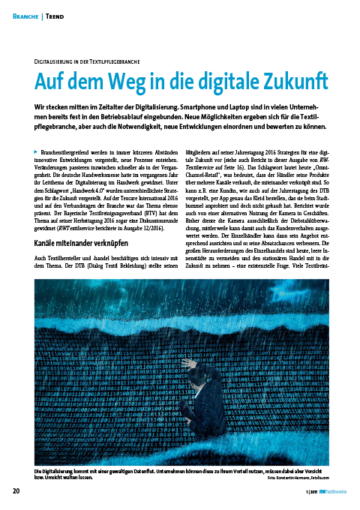 Auf dem Weg in die digitale Zukunft