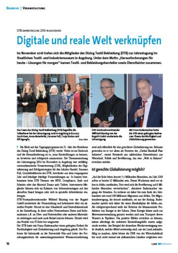Digitale und reale Welt verknüpfen